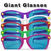 96 Units of GIANT SUNGLASSES - Costume Accessories