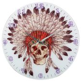 12 Units of Wall Clock Indian Skeleton