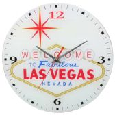 24 Units of Glass Wall Clocks Las Vegas