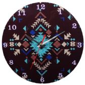 12 Units of Glass Wall Clock