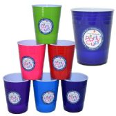 48 Units of Tumbler Colors 16oz - Plastic Drinkware