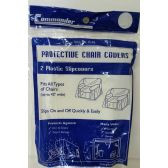 48 Units of 2 Pack Plastic Protective Chair Cover - Home Accessories