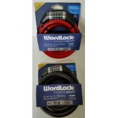 24 Units of 5' Long Cable-Bike Lock with Letters - Biking