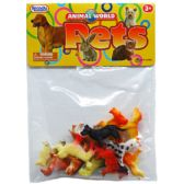 108 Units of 12 Piece Animals World Pets (Dogs) - Animals & Reptiles