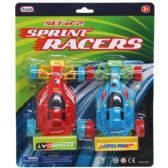 96 Units of 2 Piece Sprint Racing Cars - Cars, Planes, Trains & Bikes