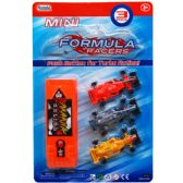 48 Units of 3 Piece Mini Racer Set w. Launcher