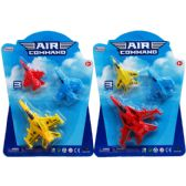 72 Units of Three Piece Action Air Command Plane Set - Cars, Planes, Trains & Bikes
