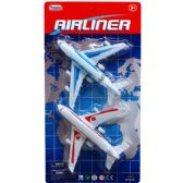 "108 Units of 2PC 5"" AIRLINERS SET IN BLISTER CARD - Cars, Planes, Trains & Bikes"