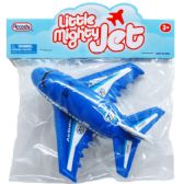 "192 Units of 5.5"" P/B LITTLE MIGHTY JET IN POLLY BAG W/HEADER - Cars, Planes, Trains & Bikes"