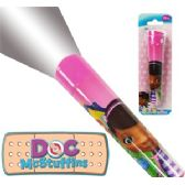 72 Units of DISNEY'S DOC MCSTUFFINS FLASHLIGHTS - Flash Lights