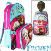 12 Units of 2-IN-1 DISNEY'S FROZEN LUNCH BOX & BACKPACKS.