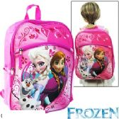 8 Units of DISNEY'S FROZEN BACKPACKS - Licensed Backpacks