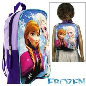 8 Units of DISNEY'S FROZEN MINI BACKPACKS - Licensed Backpacks