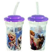 24 Units of DISNEY'S FROZEN TRAVEL CUPS - Plastic Drinkware