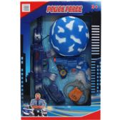 24 Units of TOY POLICE SET WITH TOY HELMET IN WINDOW BOX - Toy Weapons