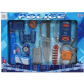24 Units of 12PC TOY POLICE SET IN WINDOW BOX, 2 ASSORTED - Action Figures & Robots