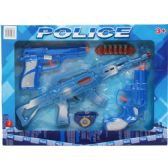 12 Units of FIVE PIECE TOY POLICE PLAY SET IN WINDOW BOX - Toy Weapons