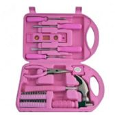 24 Units of 30 Piece PInk Tool Sets - Tool Sets