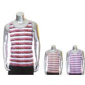 30 Units of Mens Fashion Printed Tank Tops - Mens Shirts