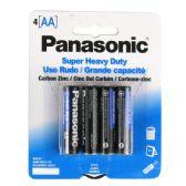 96 Units of Wholesale Heavy Duty Panasonic AA Battery