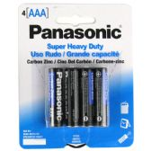 96 Units of Wholesale Heavy Duty Panasonic AAA Battery - ELECTRICAL
