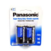 96 Units of Wholesale Heavy Duty Panasonic C Battery - ELECTRICAL