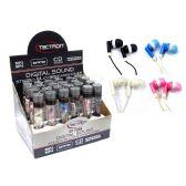 72 Units of Earphones In Tube Packaging - ELECTRICAL