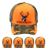 12 Units of Camouflage Hunting Cap (Deer) - Hunting Caps