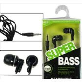 200 Units of SUPER BASS EARBUDS. - Headphones and Earbuds