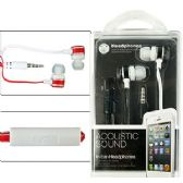 200 Units of EARBUDS W/ REMOTE & MICROPHONE. - Headphones and Earbuds