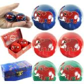 60 Units of ELEPHANT CHINESE HEALTH BALLS. - Balls