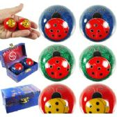 60 Units of LADY BUG CHINESE HEALTH BALLS - Balls
