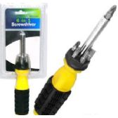 24 Units of 6-IN-1 SCREWDRIVERS. - Screwdrivers and Sets