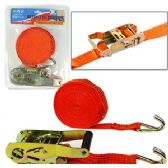 20 Units of HEAVY DUTY RATCHET TIE DOWN STRAPS. - Bungee Cords