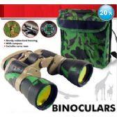 16 Units of CAMOUFLAGE BINOCULARS. - Binoculars & Compasses