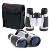 25 Units of BINOCULARS WITH CARRYING POUCH.