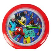 12 Units of DISNEY'S MICKEY WALL CLOCKS.