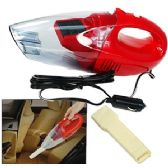 8 Units of WET DRY HAND HELD CAR VACUUM CLEANERS - RED. - Auto Cleaning Supplies