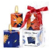 36 Units of 2PCS. HEXAGONAL SUN & MOON CANDLE SETS. - Candles & Accessories
