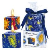 36 Units of 2PCS. SQUARE SUN & MOON CANDLE SETS. - Candles & Accessories
