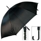 24 Units of LARGE BLACK UMBRELLAS. - Umbrellas & Rain Gear