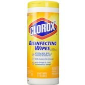 50 Units of Clorox Disinfecting Wipes, Citrus Blend, 35ct - Cleaning Products