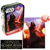 36 Units of STAR WARS MINI JIGSAW PUZZLE TINS - Puzzles