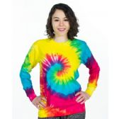 48 Units of ADULT LONG SLEEVE TYE-DYE T-SHIRTS