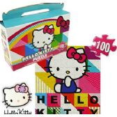 24 Units of HELLO KITTY GIFT BOX PUZZLE - Puzzles
