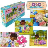 24 Units of DISNEY'S DOC MCSTUFFINS JIGSAW PUZZLES - Puzzles