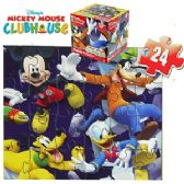24 Units of DISNEY'S MICKEY'S CLUBHOUSE CUBE JIGSAW PUZZLES - PUZZLES