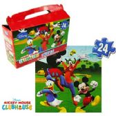 24 Units of DISNEY'S MICKEY'S CLUBHOUSE GIFT BOX PUZZLES - PUZZLES