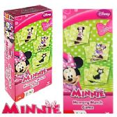 24 Units of DISNEY'S MINNIE MOUSE MEMORY MATCH GAMES - Dominoes & Chess