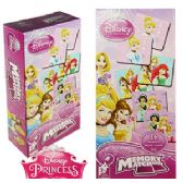 24 Units of DISNEY'S PRINCESSES MEMORY MATCH GAMES - Dominoes & Chess